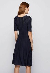 BOSS - Jumper dress - open blue - 2