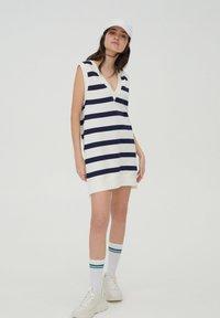 PULL&BEAR - DRESS - Day dress - white - 1