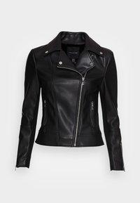 Forever New - CORRIE BIKER - Faux leather jacket - black - 3