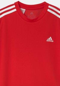 adidas Performance - SET - Sportovní kraťasy - vivid red/black/white - 3