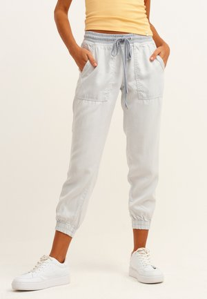 Trousers - antik greylag