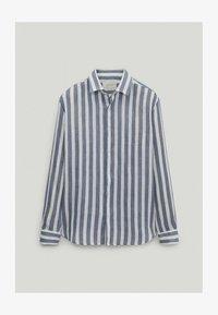 Massimo Dutti - Shirt - blue-black denim - 2