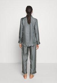 ASCENO - LONDON - Pyjama top - grey/black - 2