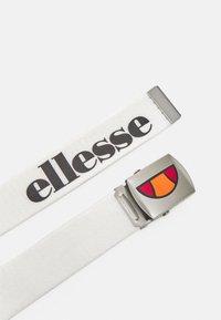 Ellesse - KAGALO UNISEX - TEENS - 9+YEARS - Belt - white - 1