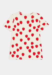 Mini Rodini - STRAWBERRY TEE UNISEX - Print T-shirt - offwhite - 1
