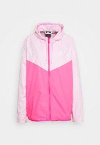 pink foam/hyper pink/white