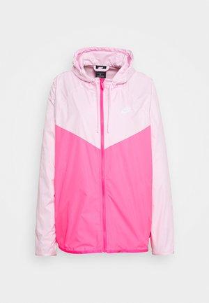 PLUS - Korte jassen - pink foam/hyper pink/white