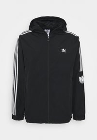 adidas Originals - 3D TREFOIL  - Lehká bunda - black/white - 0