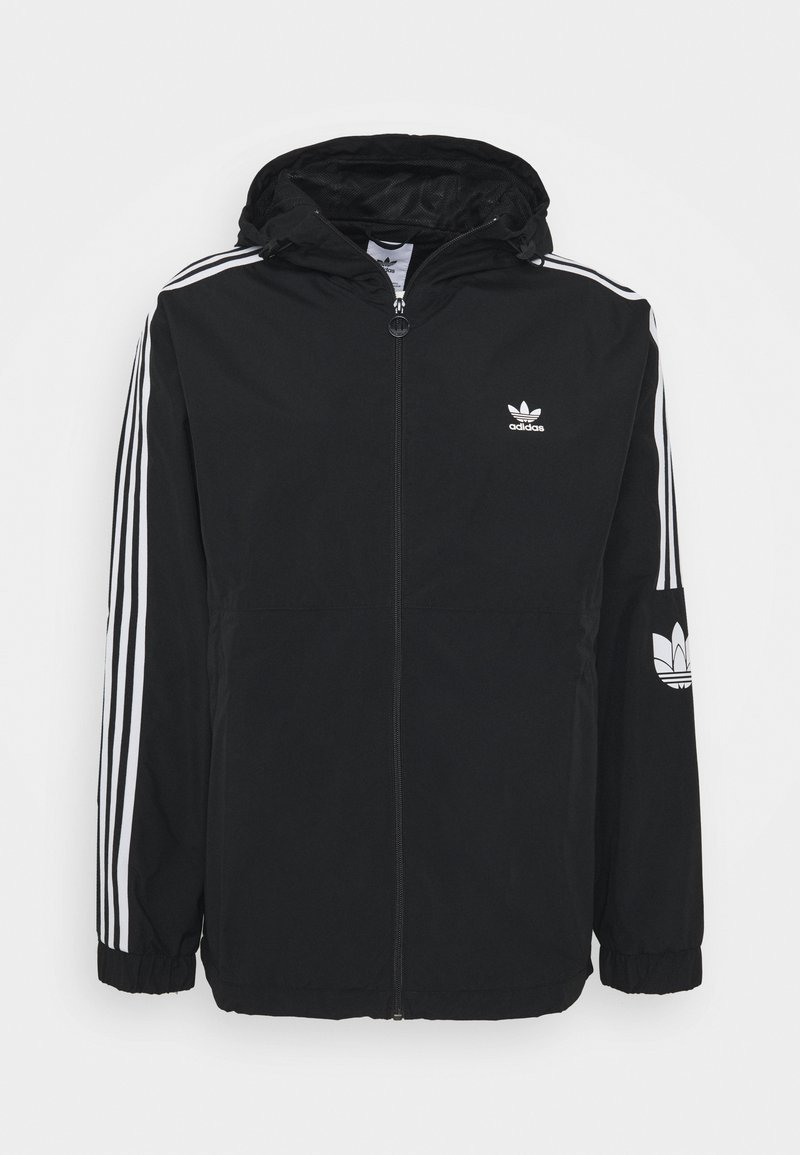 adidas Originals - 3D TREFOIL  - Lehká bunda - black/white