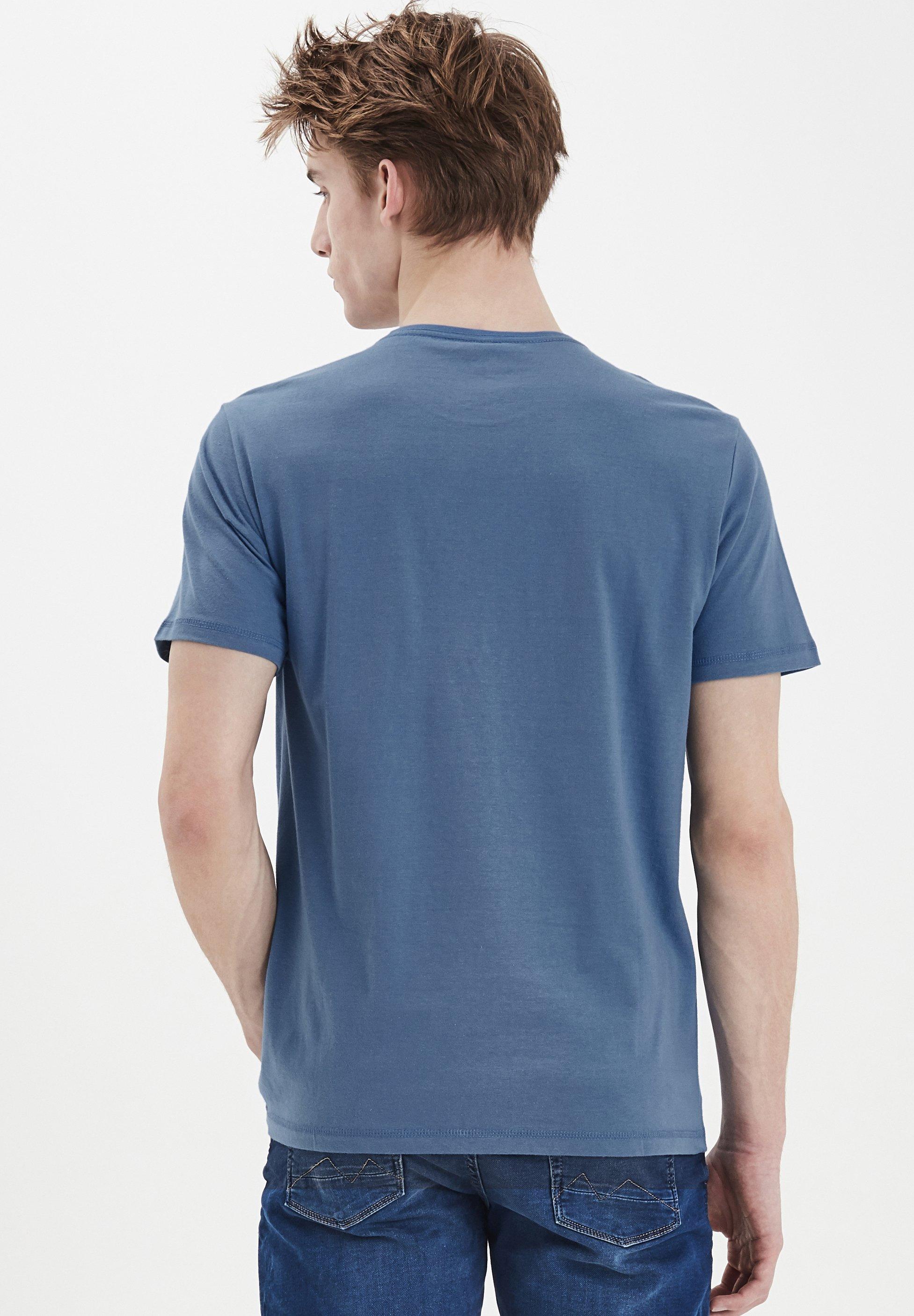 Blend TEE REGULAR FIT - Print T-shirt - federal blue dVZiF