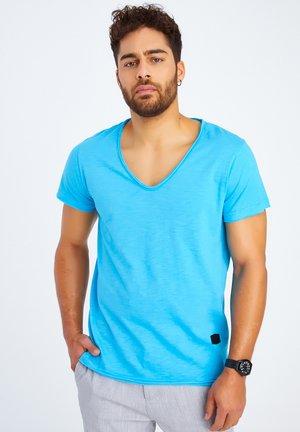 LN-6280 - T-shirt basic - türkis
