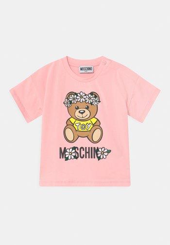 Print T-shirt - sugar rose