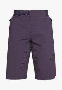 Fox Racing - FLEXAIR SHORT NO LINER - kurze Sporthose - dark purple - 3