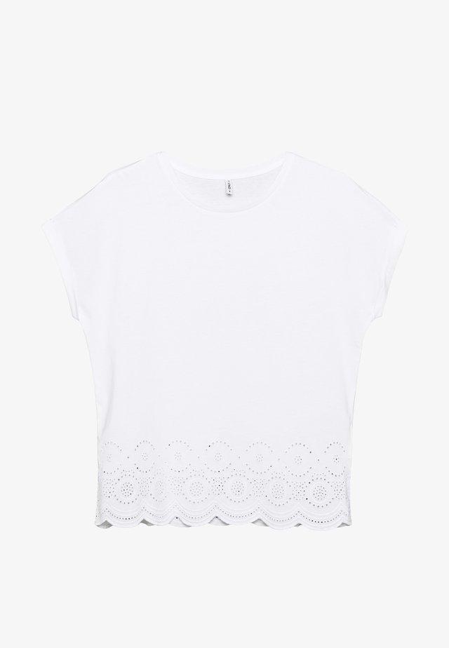 ONLCOSMA LIFE - Camiseta estampada - cloud dancer
