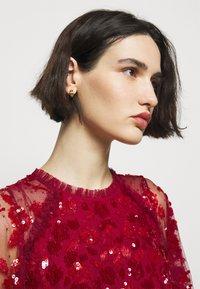 Needle & Thread - SEQUIN RIBBON BODICE MAXI DRESS - Společenské šaty - deep red - 3