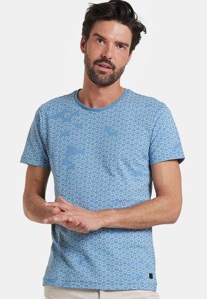 TANNER - Print T-shirt - blue