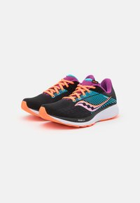 Saucony - GUIDE 14 - Stabilty running shoes - future black - 1