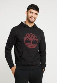 Timberland - TREE LOGO - Hoodie - black - 0
