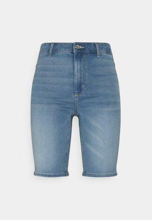 ONLROYAL BIKE - Szorty jeansowe - light blue denim