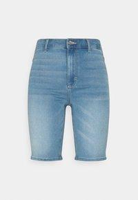 ONLY - ONLROYAL BIKE - Jeansshorts - light blue denim - 5