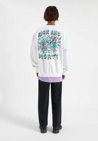 PULL&BEAR - Sweatshirt - white - 2