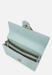 Pinko - LOVE CLASSIC ICON SIMPLY SETA ANTIQU - Across body bag - aqua green - 3