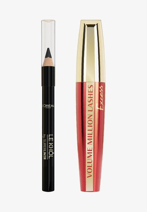 MASCARA-SET: VOLUME MILLION LASHES EXCESS + SUPERLINER LE KHÔL MINI - Makeup set - -