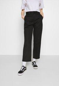 Dickies - ELIZAVILLE - Trousers - black - 0