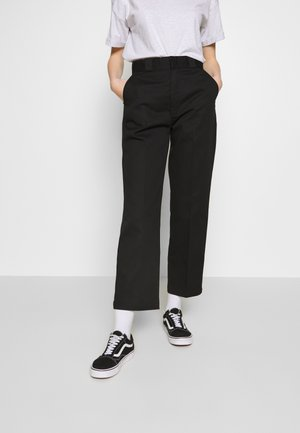ELIZAVILLE - Trousers - black