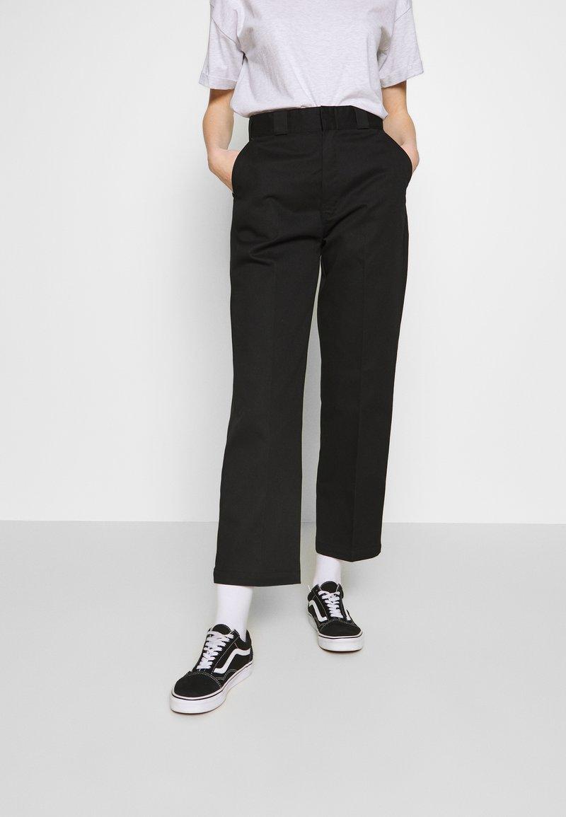 Dickies - ELIZAVILLE - Trousers - black