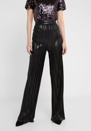 HEPLISSA - Trousers - black