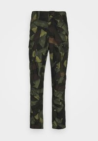 G-Star - ROXIC STRAIGHT TAPERED PANT - Pantalon cargo - olive/brown - 4