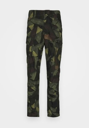 ROXIC STRAIGHT TAPERED PANT - Cargo trousers - olive/brown