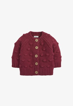 CHUNKY BOBBLE - Strikjakke /Cardigans - purple