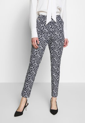 BASIC SLIM TROUSERS WITH JOGGER WAIST - Broek - blue