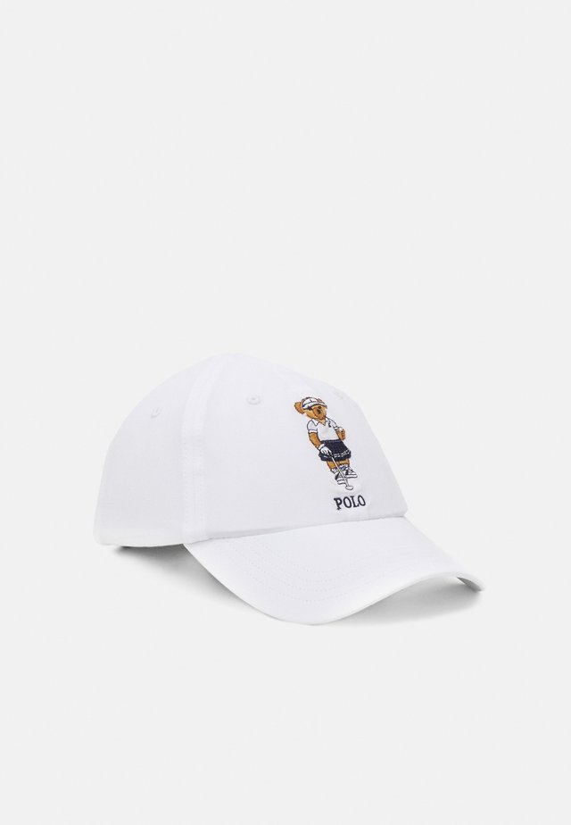 BEAR HAT - Kšiltovka - pure white