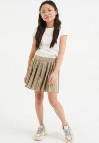 WE Fashion - A-line skirt - gold - 1