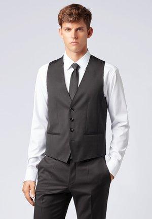 WILSON - Suit waistcoat - black