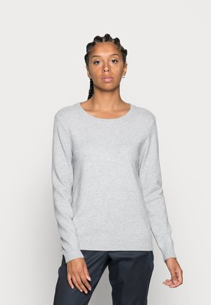 VIRIL  - Sweter - light grey melange