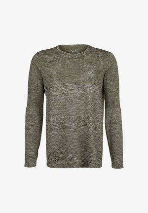 Langærmede T-shirts - smog green
