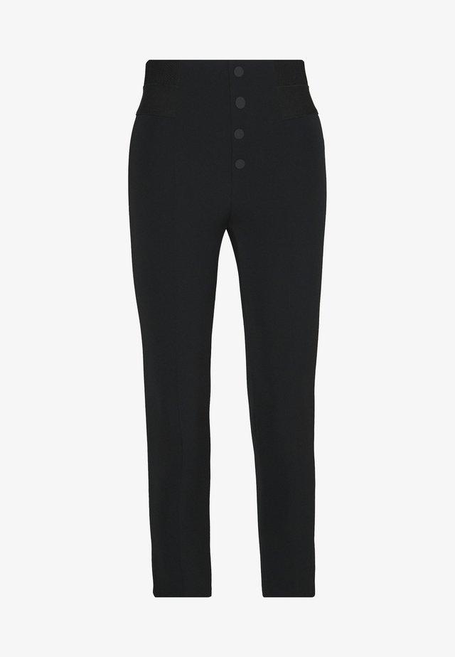 SOHO FASHION PANTS - Pantalon classique - black