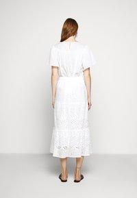 Bruuns Bazaar - ABELINA LAURANA SKIRT - A-line skirt - snow white - 2