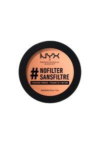 Nyx Professional Makeup - NOFILTER FINISHING POWDER - Powder - 10 classic tan - 1