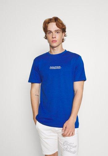 LARMAR TEE - Print T-shirt - blue