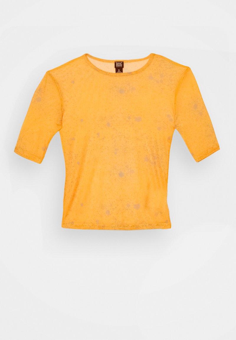 BDG Urban Outfitters - Print T-shirt - orange