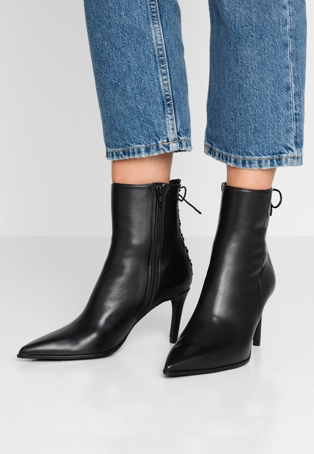 MINA - Classic ankle boots - bravo black