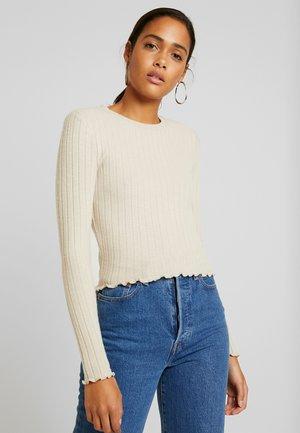 MELANIE  - Maglietta a manica lunga - soft beige