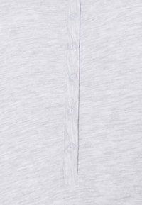 Lindex - NIGHT DRESS LINA NURSING - Nightie - light grey melange - 2