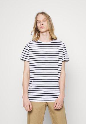 JERMANE - Print T-shirt - dark navy