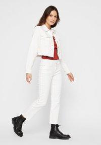 Pieces - Denim jacket - bright white - 1